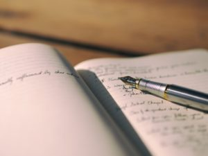 Keeping a gratitude diary is beneficial to mental health, according to recent science.