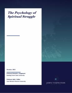 psychology of spiritual struggle